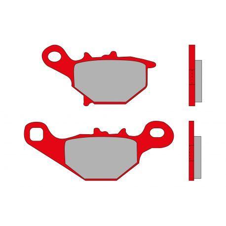 Zavorne ploščice - MHR, S47, 99,5x40x7,5 mm 76x41,5x8,2mm Suzuki 150cc 4t
