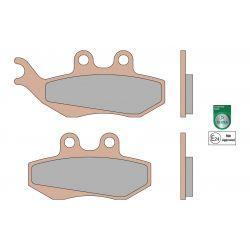 Zavorne ploščice - MALOSSI MHR Synt, S18, 41,9x76,9x7,3 mm 42,1x94,4x7,3mm, e24 mark