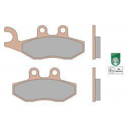 Zavorne ploščice - MALOSSI MHR Synt, S51, front, GTS 125-300ccm, 77x41x9,0 mm 97x41x9,0mm, e24 mark