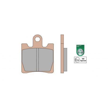 Zavorne ploščice - MALOSSI MHR Synt, S66, 44,8x53,4x8,6 mm e24 mark Suzuki