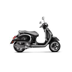 "Izpuh - AKRAPOVIC ""SLIP-ON"", ""Black Edition"", za Vespa GTS/GTS Super/GTV/GT 60 125-300cc, i.e. V4A, stainless steel silencer,"
