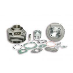 CILINDERKIT - MALOSSI MHR 136cc za Vespa 90-125/PV/ET3 /PK/S/XL/2, Ø 57,5mm, aluminium, 6 portov, hod 51mm, zatič 15mm, z gla
