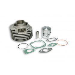 CILINDERKIT - MALOSSI MHR 136cc za Vespa 90-125/PV/ET3 /PK/S/XL/2, Ø 57,5mm, aluminium, 6 portov, hod 51mm, zatič 15mm, brez