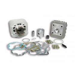 CILINDERKIT - MALOSSI MHR Team 50cc za GILERA/PIAGGIO 50cc 2t AC Ø 40,0mm, aluminium, hod 39,3mm, 1 batni obroček, zatič 12mm