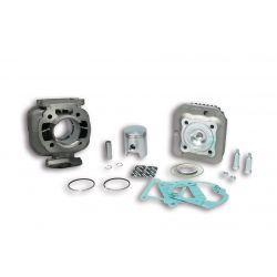 CILINDERKIT - MALOSSI 50cc za MINARELLI vertical 50cc 2t AC Ø 40,0mm, cast iron, 2 batna obročka, zatič 10mm, z glavo cilindr