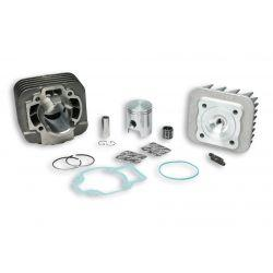 CILINDERKIT - MALOSSI 50cc za GILERA/PIAGGIO 50cc 2t AC Ø 40,0mm, cast iron, 2 batna obročka, zatič 12mm, z glavo cilindra