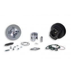 CILINDERKIT - MALOSSI MK III 136cc za Vespa 90-125/PV/ET3 /PK/S/XL/2, Ø 57,5mm, cast iron, 7 kanalov, hod 51mm, z glavo cilin