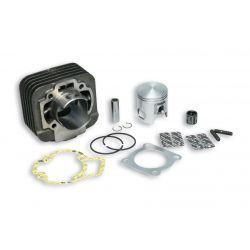 CILINDERKIT - MALOSSI 68cc za GILERA/PIAGGIO 50cc 2t AC Ø 47mm, cast iron, 2 batna obročka, zatič 12mm, brez glave cilindra