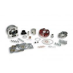 "CILINDERKIT - MALOSSI MHR ""Testa Rossa Flange Mount"" 70cc for GILERA/PIAGGIO 50cc 2t LC Ø 47,6mm, aluminium, 7 kanalov, hod 3"