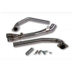 Izpušni kolektor - MALOSSI za BMW C GT 650 i.e./C Sport 650 i.e. (16-) stainless steel, brez ABE