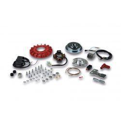 VŽIG - MALOSSI VesPower MKII, za Vespa 50-125/PV/ET3/PK50 -125/S za modele brez zavorne luči, magnet 1200g, cone 19/20mm