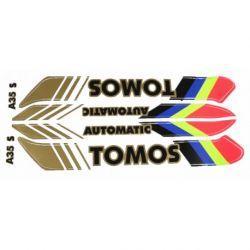 SET NALEPK - TOMOS - A35 novi tip